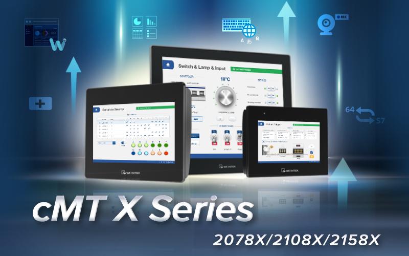 New Product Announcement - Weintek cMT X Series Standard Model Line up
