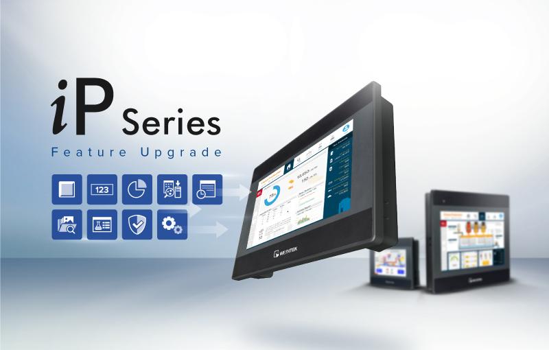 Weintek iP Series HMI get's new features