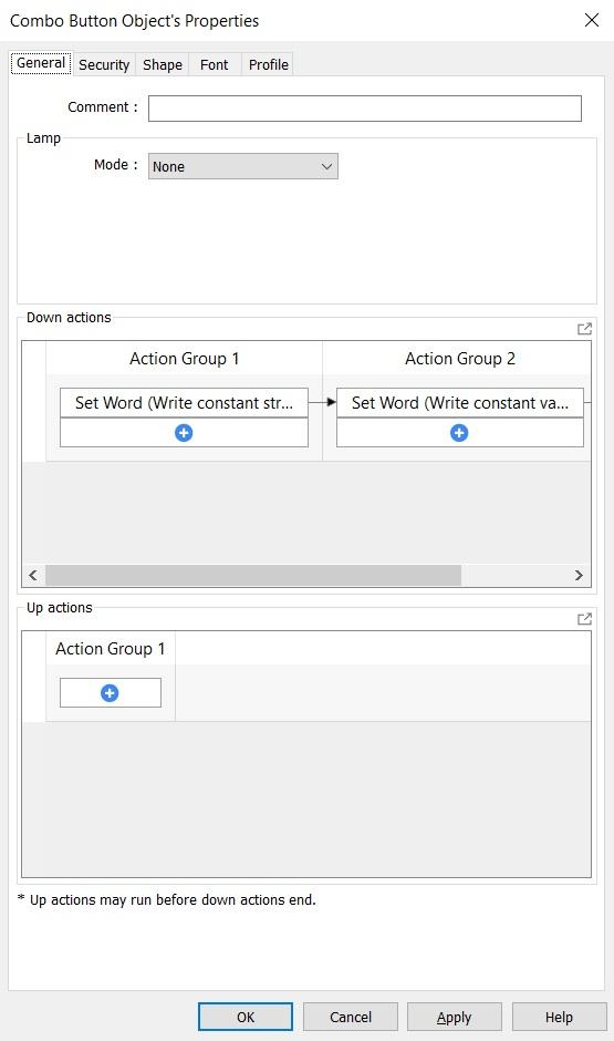 TechTip for Weintek cMT X Series Web Browser Object - using combo button