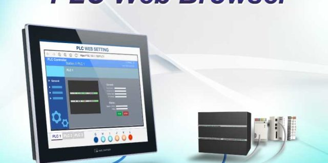 New PLC Web Browser for Weintek cMT X Series HMI