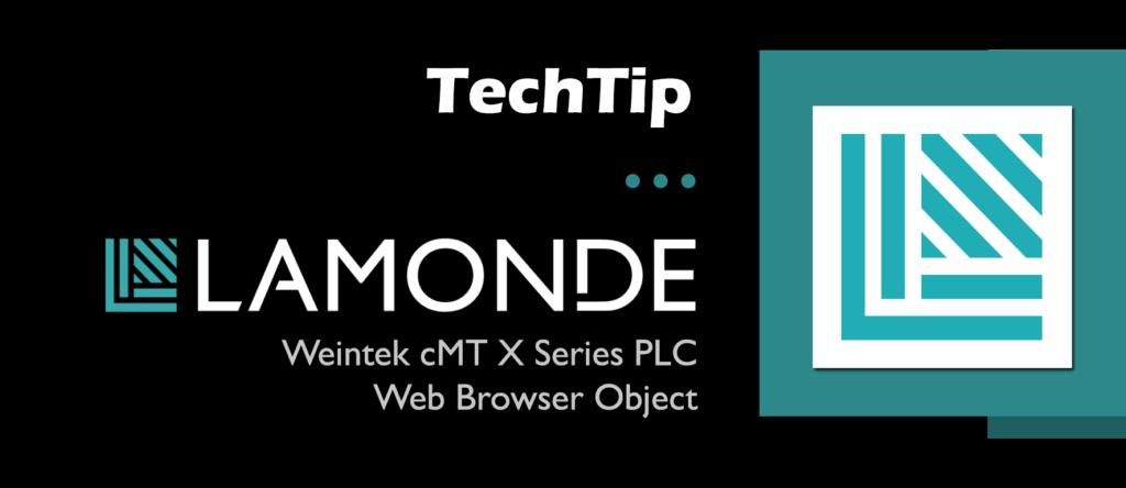 TechTip for Weintek cMT X Series Web Browser Object