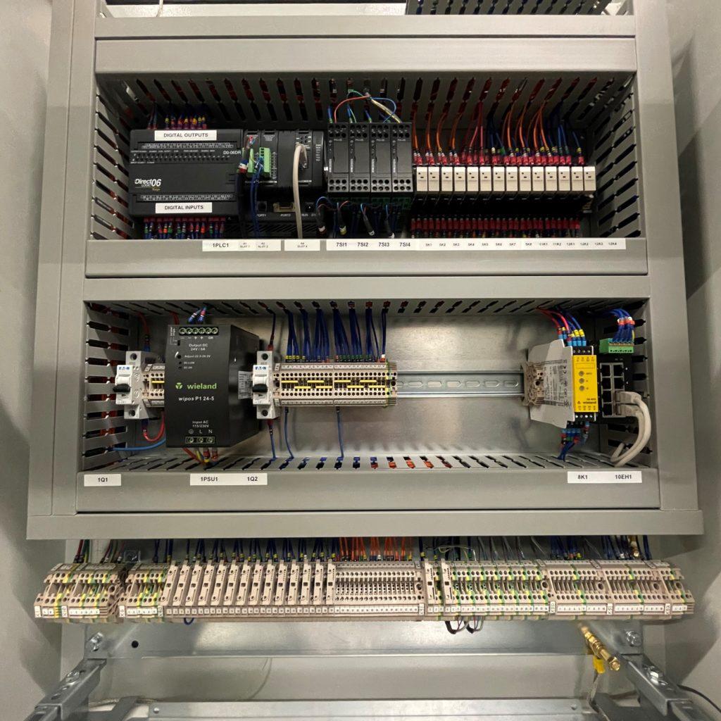 A SAACKE Control Panel